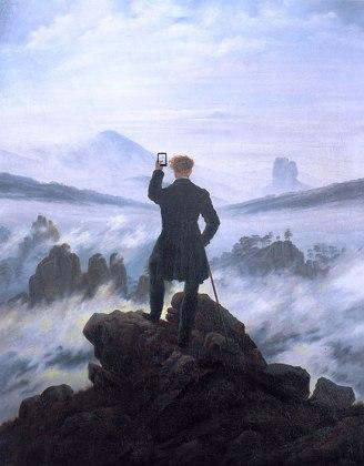 mountain-selfie