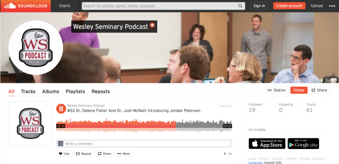 Jordan Peterson Cilantro! Dr. Fisher and I on the Wesley Seminary Podcast