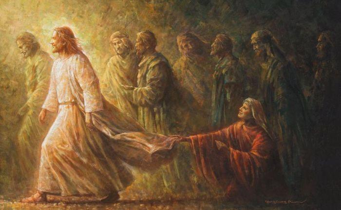 Jesus, holy contagion